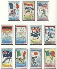 YEMEN Kingdom Olympic Games 1968 Mexico perforated set MNH