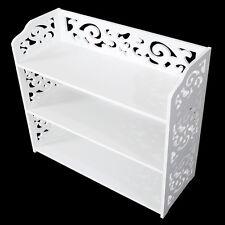 Cu alightup Shoe Storage Bench, White Rack Organizer Wood Cabinet Shelf Hallway