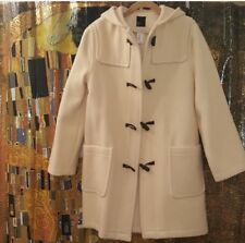 New Without Tag La Redoute Wool Cream Duffle Coat, Size 4