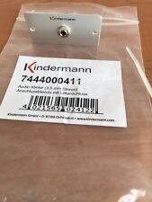 KINDERMANN 7444000511 Anschlussblende 3,5mm Audio Klinke mit Kabelpeitsche