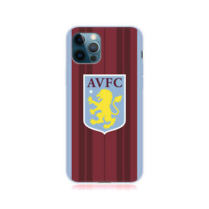 ASTON VILLA FOOTBALL CLUB 2021/22 CREST KIT GEL CASE FOR APPLE iPHONE PHONES