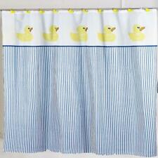"Carnation Home ""Ducky"" Fabric Shower Curtain"