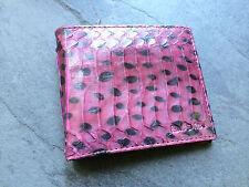 Paul Smith Hommes Violet Peau De Serpent Billet 8 portefeuille carte de crédit