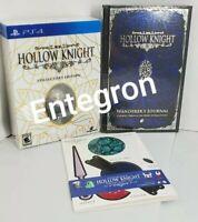 Hollow Knight Collectors Edition + Wanderer's Journal Artbook + Papercraft (PS4)