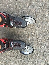All Terrain In Line Skates/Rollerblades Angled Wheel Faster, More Stable
