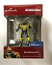 2018 Hallmark Ornament Transformers Bumble Bee Walmart Exclusive Hasbro H5