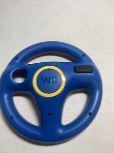 Nintendo Wii Racing Steering Wheel Remote Holder Mario Kart Red and Blue OEM. J