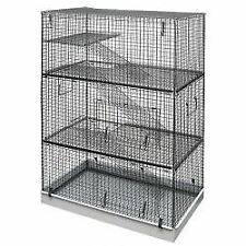 Lazy Bones Wire Rodent Cage Triple Storey - 70x42 - 67937