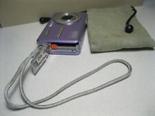 Sanyo VPC E1075 10.0MP Purple Digital Camera with Video /Bag Case- Point & Shoot