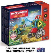 Genuine MAGFORMERS Mini Tank Set 27 pcs - 3D Magnetic construction buildings