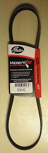 Gates 5PK940 Micro V AT Alt & W/P Belt for Nissan 200SX Silvia 180SX S13 S14 S15