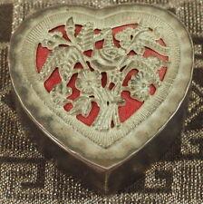 PORTAGIOIE IN ARGENTO ART NOUVEAU 1900 SILVER TRINKET BOX JEWELLERY CASE