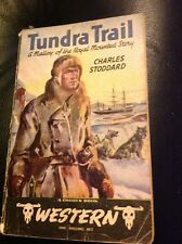 TUNDRA TRAIL by Charles Stoddard A Chosen Book Vintage Western Paperback