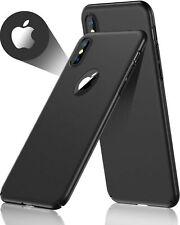 Funda Para Iphone Xs Max Slim Fit Cubierta De Plastico Duro Acabado Mate Com...