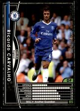 Panini/Sega (Japan) WCCF (2004-2005) Ricardo Carvalho (Chelsea) No. 21