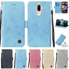 Matte Wallet Leather Flip Case Cover For Nokia X5 X6 X7 3.1 Plus 5.1 6.1 7.1 8.1