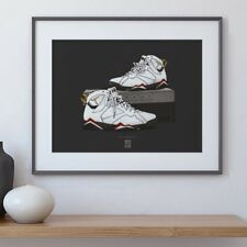 Air Jordan 7-Poster, Concord, south beach, SPACE JAM, Game Royal, BRED