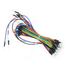 Male To Male Solderless Flexible Breadboard Jumper Cable Wires 65pcs For Arduino