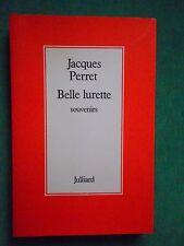 BELLE LURETTE SOUVENIRS JACQUES PERRET 1983 JULLIARD  GD FORMAT