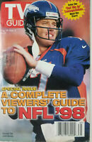 TV Guide Sept 1998 Magazine NFL Denver Broncos John Elway Special Issue - GD