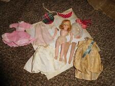 vintage Cissette Sleeping Beauty Doll -TLC w/Queen Elizabeth II + Stole Nylons +