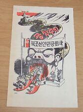 VTG 1950's KOREAN WAR Propaganda/Psychological Warfare FLYER/Leaflet~1171
