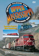 Trains Along the Upper Mississippi Vol 1 DVD Pentrex CP River Sub MR Soo I&MRL