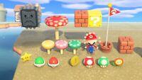 Super Mario Animal Crossing New Horizons Update 1.8.0 + Surprise Bonus
