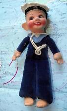 C1940 Liner ship navy settimana Norah Wellings Panno Sailor bambola ottime condizioni