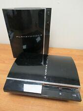Sony Playstation 3 PS3 Original Piano Black Consoles CECHC03 CECHL04 [158]