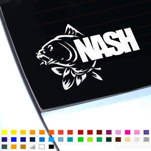 Nash Carp Fishing Hunter Decal Sticker For Car Van Window Bumper Caravan Bait