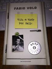 FABIO VOLO ESCO A FARE DUE PASSI oscar bestsellers 2008  brossurato