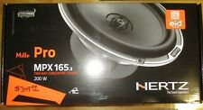 """HERTZ MPX165.3 MILLE 6.5"""" PRO 100W RMS 2-WAY MOTORCYCLE CAR COAXIAL SPEAKERS NEW"""