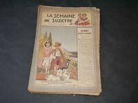 SEMAINE DE SUZETTE N° 1 (30 Mai 1946 ) AU 21 (19 Decembre 1946 ) COMPLET ET RARE