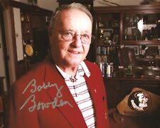 Bobby Bowden AUTOGRAPHED 8x10 AUTO SIGNED FSU FLORIDA STATE COACH 3