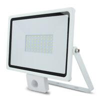 LED Außen Beleuchtung 50W Flutlicht Strahler EVO + PIR mit Bewegungsmelder IP65