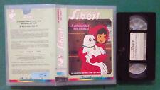 VHS Ita Animazione PICCOLA BIANCA SIBERT La Scomparsa Dei Conigli no dvd(V100)