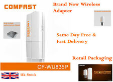 COMFAST CF-WU835P 2T2R 300Mbps mini usb wifi adapter with WPS one key encryption