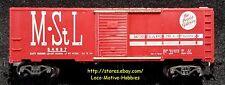 Mantua Tyco T311Q  PEORIA GATEWAY 40 Boxcar Minneapolis M&StL 54657 METAL BASE
