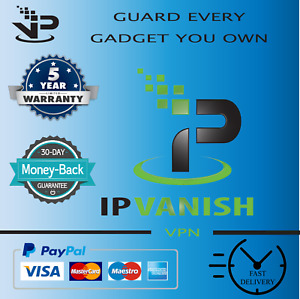 ✔️ Premium IPVanish VPN✔️ unlimited devices✔️5 Years WARRANTY✔️Instant Delivery