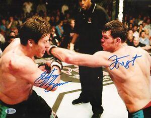 Forrest Griffin Stephan Bonnar Signed 11x14 Photo BAS Beckett COA UFC Autograph