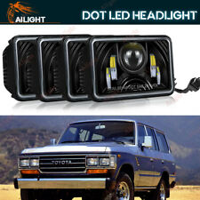 4x6 Headlights For Toyota Landcruiser 61 62 80 Series High-Low Sealed Beam Light