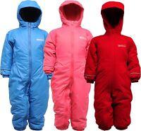 Regatta Splosh Waterproof Breathable All In One Padded Fleece Lined Snow Suit