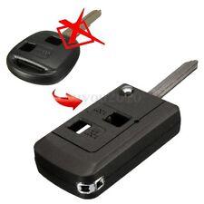 2 Button Remote Flip Key Fob Case Shell For Toyota Rav 4 Celica Puris Carmy New