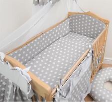 5 Pièces bébé Lit Bébé Literie Avec 4 faces Pare-chocs pour 140x70 cm - Motif 14