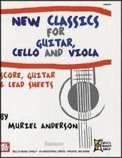 Classics for Guitar Cello and Viola Music Book Score Plus Online PDF Parts