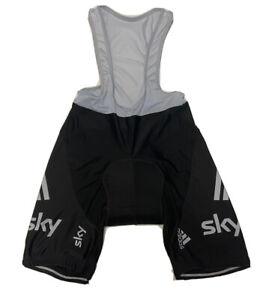 Cycling Sky Adidas Bib Shorts Size L NLV