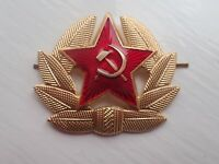 Russian USSR Soviet Red Army Star Hat Pin Badge Kokarda