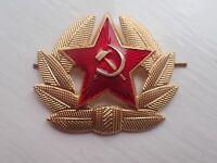 Russian USSR Soviet Red Army Star Hat Pin Badge Kokarda