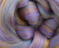 4 Ounces Merino Wool/Bamboo(Bambino) Combed Top/Roving - Pastel Impressions
